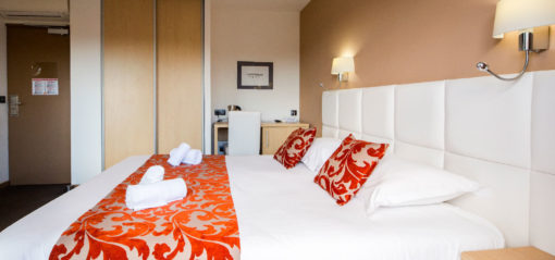 Atmosphere of the superior double room