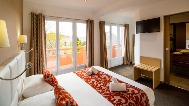Superior double room with balcony for two people