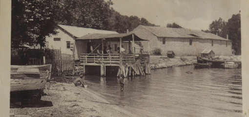 The port of Porto-Vecchio en 1900