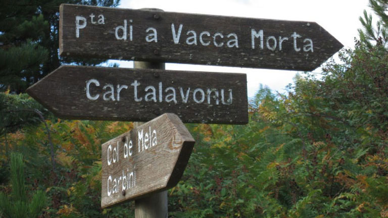 Randonner en Corse