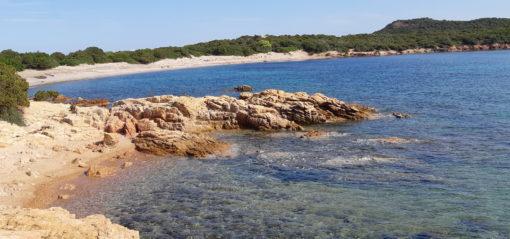La spiaggia di Rondinara