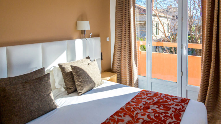 The Mistral's rooms in Porto-Vecchio
